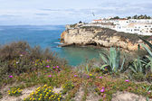 Algarve Coast Landscape, Portugal — Stock Photo