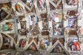 Sistine Chapel ceiling, Vatican State — Stock Photo