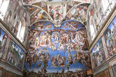 The Last Judgement, Sistine Chapel — Zdjęcie stockowe