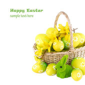 Easter Concept Image with Free Space for your Text — Stock Photo