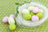 Easter Nest Decoration — Stock Photo