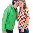 Stock Photo: Couple whispering