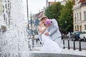 Un giorno di nozze — Foto Stock