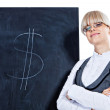 I can earn you some good money — Stock Photo