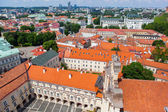 Panoramisch uitzicht van de universiteit van vilnius — Stockfoto
