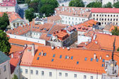 Panoramic view of Vilnius old town — Stock Photo