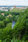 Panoramic view of Vilnius — Stock Photo