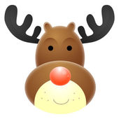 Rudolph Red Nosed Reindeer — Stock Photo