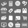 Stock Vector: Vector Shopping Icons