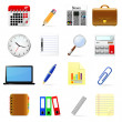 Office icons set — Stock Vector #37708933