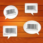 Bar-codes — Stock Vector