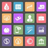 Geschäft & Finance Icons — Stockvektor