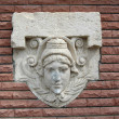 Mascaron. Relief — Stock Photo #17360007