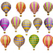 Air balloons — Stock Photo #22998568