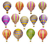 Air balloons — Stock Photo