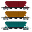 Royalty-Free Stock Vector Image: Freight car