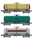 Cistern car — Stock Vector