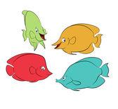 色魚 — ストックベクタ