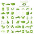 Ecological icons — Vector de stock #39754597