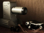 Vintage filmkameran — Stockfoto