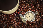 Time for coffe — Stock Photo