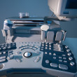 Ultrasound machine — Stock Photo