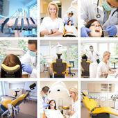 牙科混合 — 图库照片