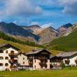 Foto Stock: Alpine village