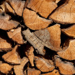 Stack of woodbackground — Stock Photo