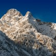 Snowy mountain peak- Austria,Venet mountain — Stock Photo