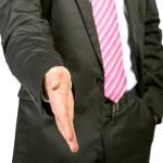 Businessman handshake — Stock Photo