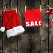 Christmas SALE — Foto de Stock