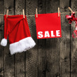 Christmas SALE — Stockfoto