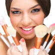 makeup model — Stock Photo
