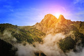 Beautiful mountains in Austria — Stock Photo