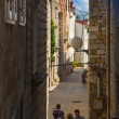 Croati, Rab City narrow streets — Stock Photo #38336835