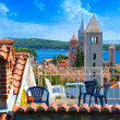 Croatia , Rab City 3 tower — Stock Photo #38336837