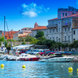 Croatia, Rab City harbor — Stock Photo #38336865