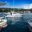 Stock Photo: Croatia, Rab City harbor
