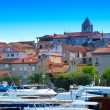 Croatia, Rab City harbor — Stock Photo