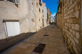 Croatia , Rab City narrow streets — Stock Photo