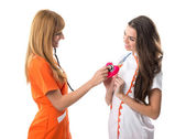 Two nurses — Stock Photo
