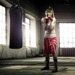 Woman boxing — Stock Photo #44262745