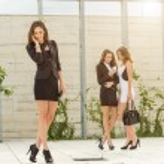 Businesswomen negotiation — Stock Photo