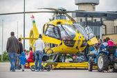 Air Ambulance presentation day — Stock Photo