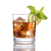 Black russian cocktail — Stock Photo