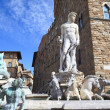 Fountain of Neptune, Florence (Italy) — Stock Photo