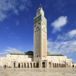 Mosque of Hassan II — Stock Photo
