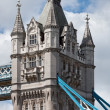 Fragment of Tower Bridge at London - Stock Photo