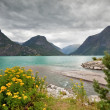 Scenic view of Oppstrynsvatnet lake (Norway) — Stock Photo